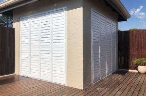 An example of PVC Shutters